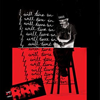 Mightyworld Triple RRR radio print poster 80s 90s design