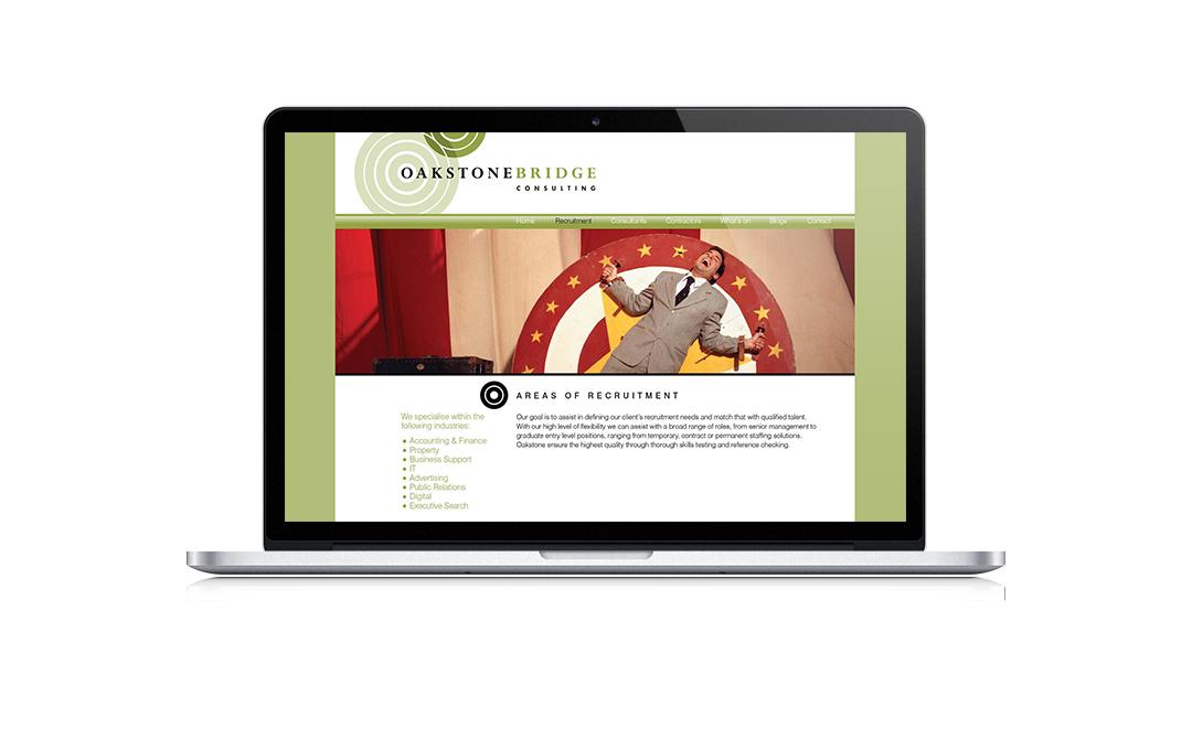 Mightyworld Oakstone Bridge consulting website design