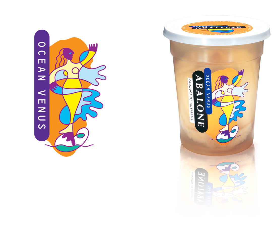Mightyworld Souwest Ocean Venus Abalone seafood packaging design