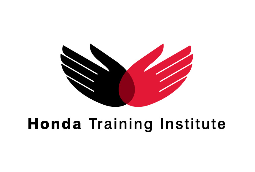 Mightyworld Honda Training Institute logo branding design