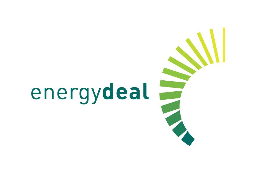 Mightyworld energy deal logo branding design