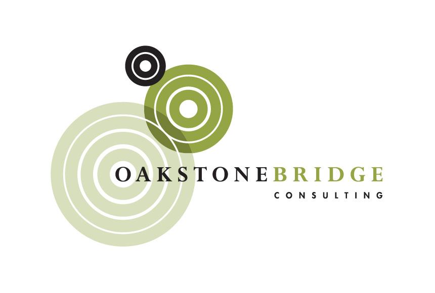 Mightyworld Oakstone Bridge Consulting logo branding design