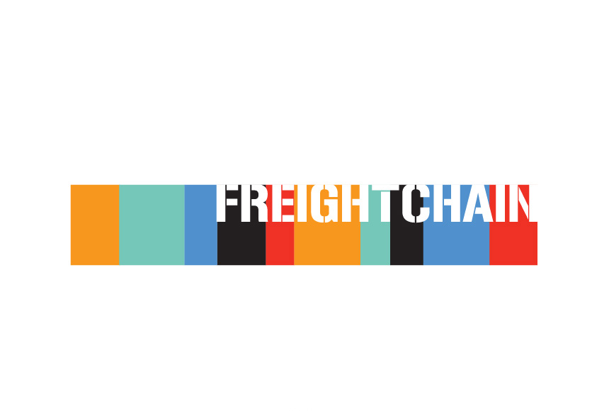Mightyworld Freight Chain logo branding design