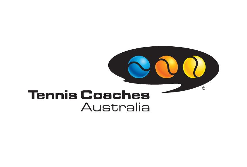 Mightyworld Tennis Coaches Australia logo branding design