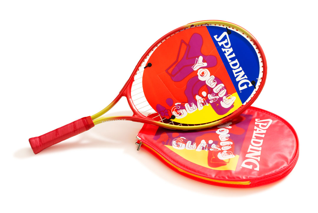 Mightyworld Spalding Tennis racquet product design
