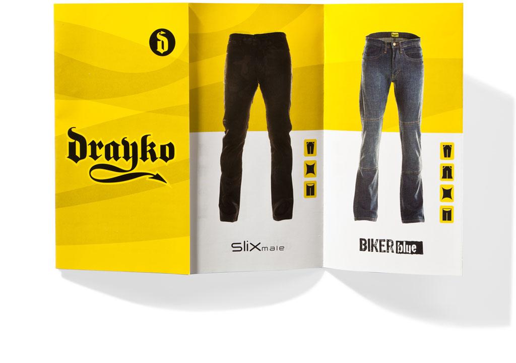 Mightyworld Drayko print brochure flyer branding design