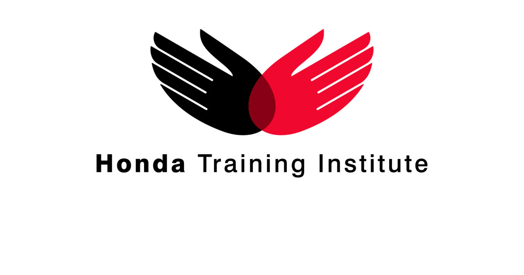 Mightyworld Honda Training Institute logo branding design