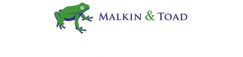 Mightyworld Malkin & Toad branding logo design