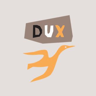 Mightyworld Dux logo branding design