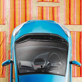 Mightyworld Honda Jazz print poster design